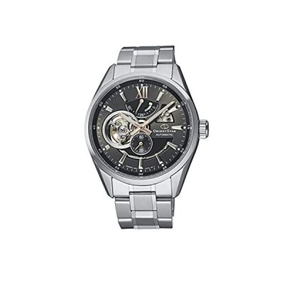 Orient Star Semi Skeleton Sapphire Gray Dial Automatic Steel Watch RE-AV000