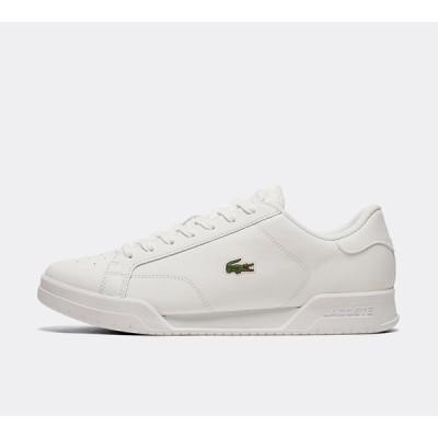 ラコステ Lacoste メンズ スニーカー シューズ・靴 twin serve trainer White/White