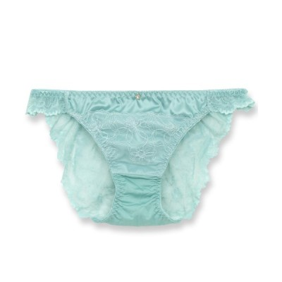 fran de lingerie / Elegance Satin エレガンスサテン コーディネートバックレースショーツ WOMEN アンダーウェア > ショーツ