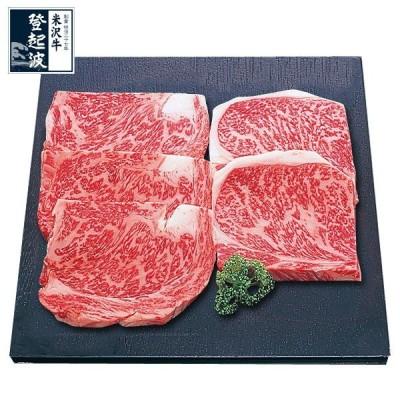 米沢牛 ロースステーキ 120g (5枚)【化粧箱入り】