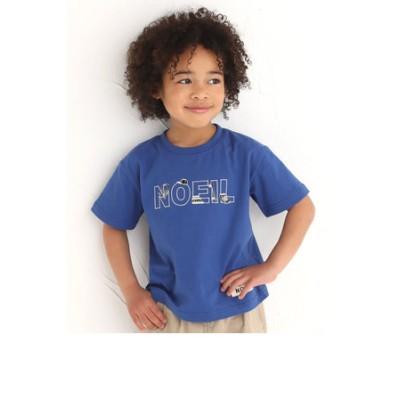 ロゴ 刺繍 半袖 Tシャツ (80~130cm)