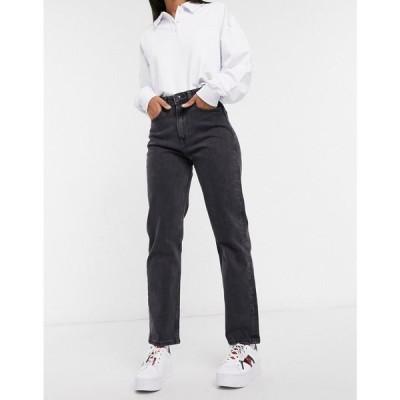 トミー ジーンズ Tommy Jeans レディース ジーンズ・デニム ボトムス・パンツ Ultra High Rise Straight In Wash Black