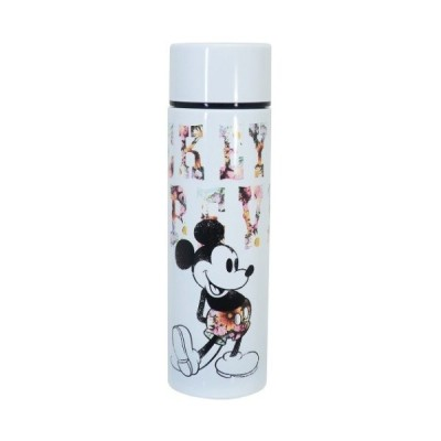 ミニ 保温保冷 水筒 ポケット ステンレスボトル ミッキーマウス ディズニー 三郷陶器 約4.6×15.6cm