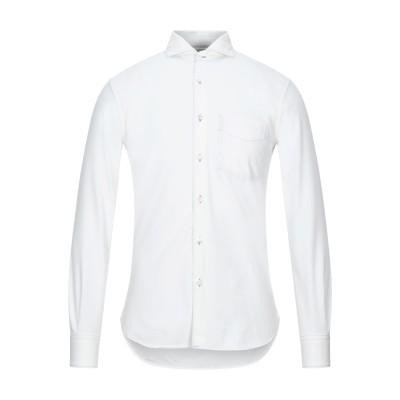 アスペジ ASPESI シャツ ホワイト 39 コットン 100% シャツ