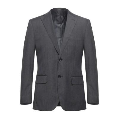 TRU TRUSSARDI テーラードジャケット 鉛色 48 ポリエステル 81% / レーヨン 19% テーラードジャケット