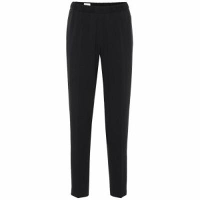 ドリス ヴァン ノッテン Dries Van Noten レディース ボトムス・パンツ Printed high-rise straight pants black