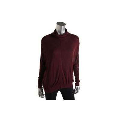 海外セレクション セーター アウター Kokun 2822 レディース パープル Cowl Neck 長袖 プルオーバーセーター Top XS BHFO