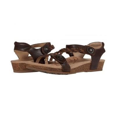 Aetrex エートレックス レディース 女性用 シューズ 靴 サンダル Jillian Quarter Strap - Dark Brown
