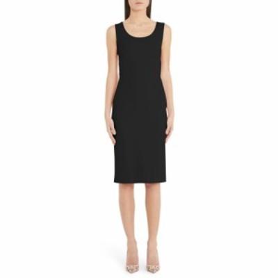 ドルチェ&ガッバーナ DOLCE&GABBANA レディース ワンピース ワンピース・ドレス Scoop Neck Sheath Dress Black
