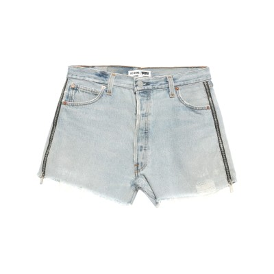 RE/DONE with LEVI'S デニムショートパンツ ブルー 26 コットン 100% デニムショートパンツ