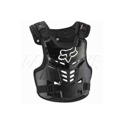 パーツ アクセサリー フォックス Racing 06120-001 Fox Youth Pro-Frame Chest Protector Roost Guard Neck Brace Compatible