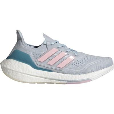 アディダス adidas レディース ランニング・ウォーキング シューズ・靴 Ultraboost 21 Running Shoes Blue/Pink