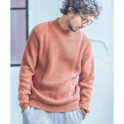 ニット mn2190-Mock Neck Knit Pullover (MADE IN JAPAN) プルオーバー