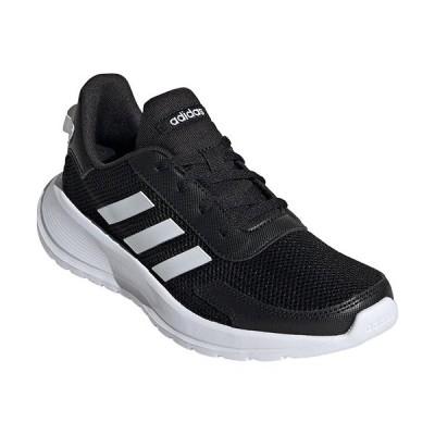 アディダス(adidas) ジュニア レディース ランニングシューズ TENSAUR RUN K コアブラック/フットウェアホワイト/コアブラック GVI33 EG4128 トレーニング