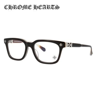クロムハーツ メガネ フレーム Chrome Hearts メンズ レディース 度付き 度あり レギュラーフィット COX UCKER BRBBR 52 海外正規品
