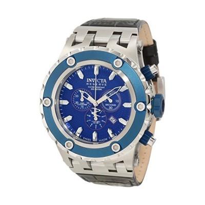 腕時計 インヴィクタ インビクタ 10085 Invicta Men's 10085 Subaqua Reserve Chronograph Blue Textur
