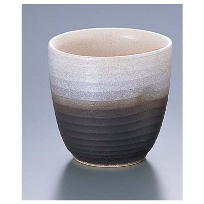 淡白黒片押しカップ D03−03