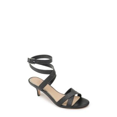 ジュウェルダグレイミシュカ レディース サンダル シューズ Newton Glitter Strappy Kitten Heel Sandal BLACK