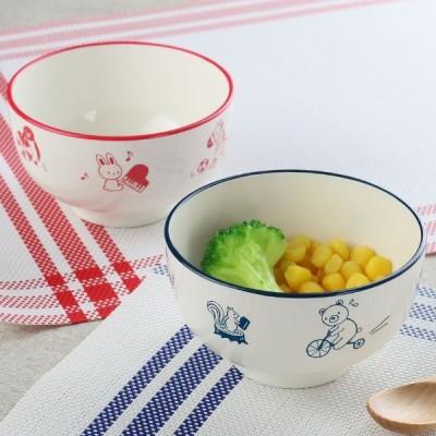 汁椀 260ml アクティブあにまる 食器 日本製 ( 食洗機対応 うつわ 電子レンジ対応 お椀 子供用食器 器 )