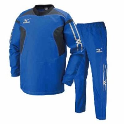 ミズノ タフブレーカーシャツ&パンツ上下セット サーフブルー  MIZUNO R2ME6001-25-R2MF6001-25