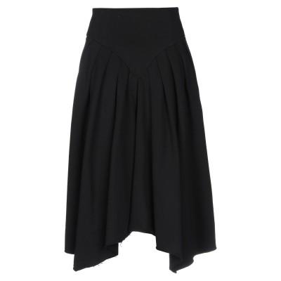GAëLLE Paris 7分丈スカート ブラック 0 コットン 100% 7分丈スカート