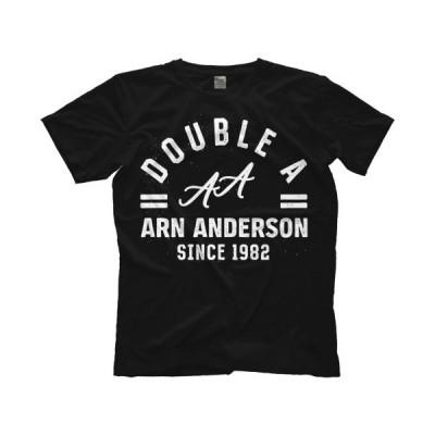 アーン・アンダーソン Tシャツ「ARN ANDERSON Double A Tシャツ」 米直輸入プロレスTシャツ NWA WCW WWF WWE