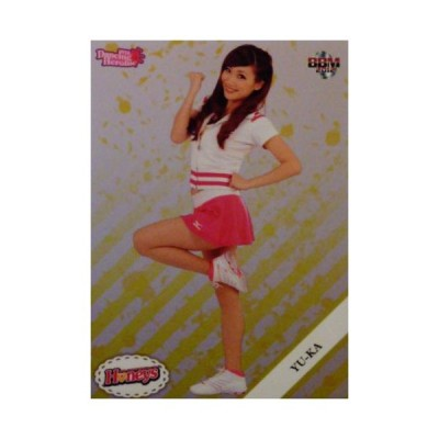11 【YU-KA(福岡ソフトバンクホークス/Honeys)】BBM プロ野球チアリーダーカード2012 「DANCING HEROINE -華-」レギュラーパラレル