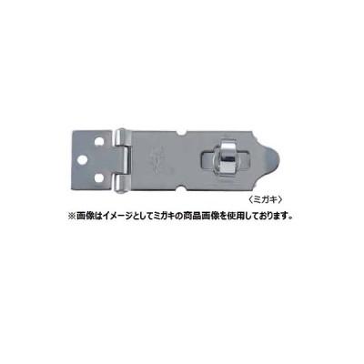 丸喜金属 SUTRONT80R グリーン色焼付塗装(鉄) ストロング掛金 サイズ:80 10個入