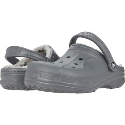 クロックス Crocs レディース クロッグ シューズ・靴 Ralen Lined Clog Slate Grey/Light Grey