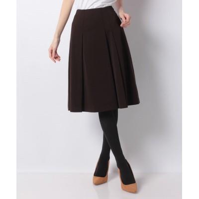 (MISS J/ミス ジェイ)【セットアップ対応】ツイルジャージースカート/レディース ブラウン