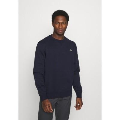 ラコステ パーカー・スウェットシャツ メンズ アウター Sweatshirt - navy blue