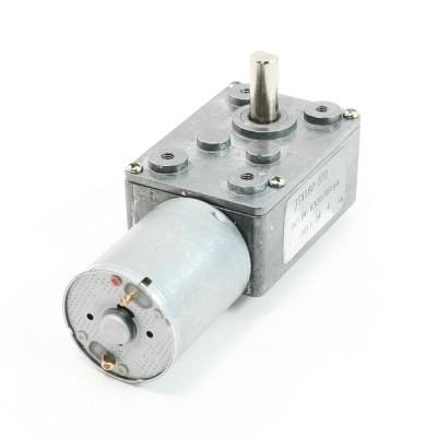 uxcell ギヤードモータ DC 12V 8300/46RPM グレー 金属素材 電力モーター