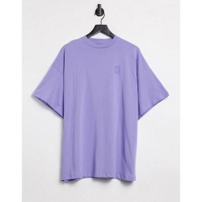 エイソス レディース シャツ トップス ASOS 4505 logo oversized t-shirt