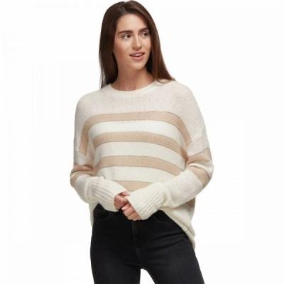 レイルズ Rails レディース ニット・セーター トップス Saturn Sweater Ivory/Jute Stripe
