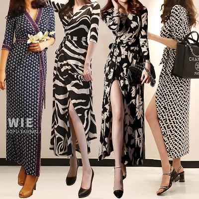 高品質送料無料ワンピースドレス女性大人気ワンピース 夏花柄ワンピースレデイースファッションzx997