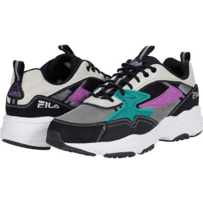 フィラ Fila メンズ スニーカー シューズ・靴 Trail Tracer Black/Fila Cream/Greenlake