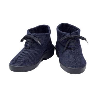 アルコペディコ(ARCOPEDICO) レディース シューズ クラシックライン POLAKINA ポラキナ ネイビー 5061040 靴 チャッカ ブーツ ニット