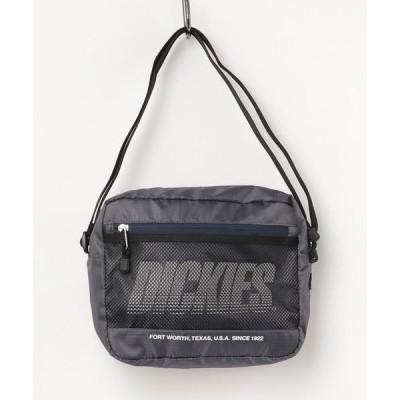 ショルダーバッグ バッグ Dickies/ディッキーズ ロゴ メッシュポケット ミニショルダーバッグ