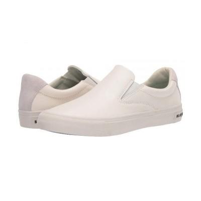 SeaVees シービーズ レディース 女性用 シューズ 靴 スニーカー 運動靴 Hawthorne Slip-On Leather - White