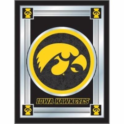 Holland Bar Stool Co. ホランド バー スツール スポーツ用品  Iowa Hawkeyes 28 x 19 Logo Mirror