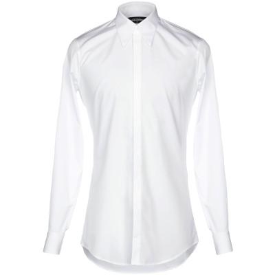 ディースクエアード DSQUARED2 シャツ ホワイト 48 コットン 100% シャツ
