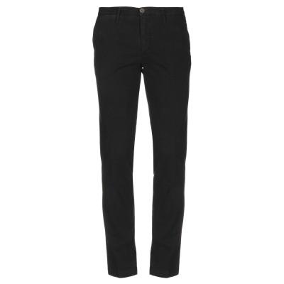 マニュエル リッツ MANUEL RITZ パンツ ブラック 44 コットン 98% / ポリウレタン 2% パンツ