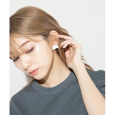 wears / シェルイヤリング/ピアス WOMEN アクセサリー > ピアス(両耳用)