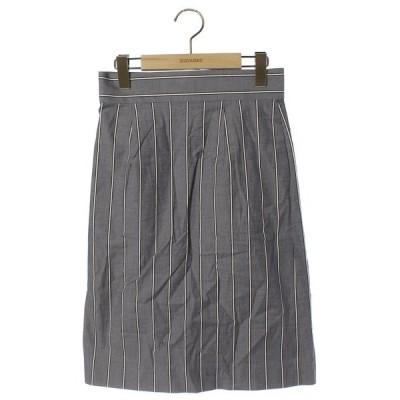 スカート ストライプ柄スカート