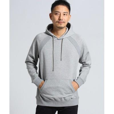 TAKEO KIKUCHI / [大きいサイズ]DCシルケットパーカー[ メンズ パーカー フーディー ] MEN トップス > パーカー