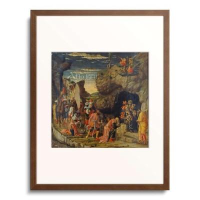 アンドレア・マンテーニャ Andrea Mantegna 「Adoration of the Kings (Centre Panel).」