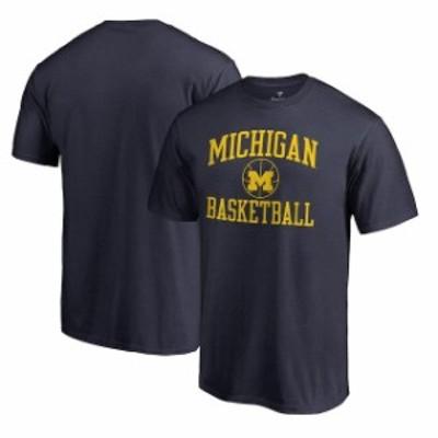 Fanatics Branded ファナティクス ブランド スポーツ用品  Fanatics Branded Michigan Wolverines Navy In Bounds T-Shirt