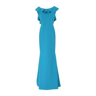 CHIARA BONI LA PETITE ROBE ロングワンピース&ドレス ターコイズブルー 38 ナイロン 72% / ポリウレタン 28%