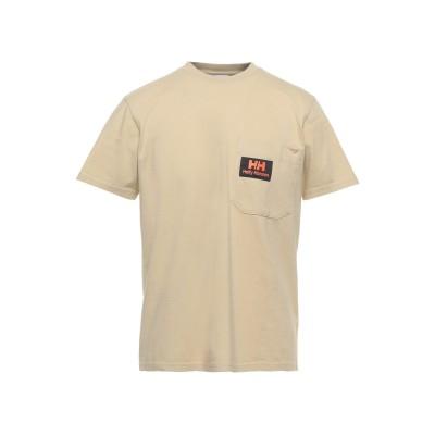 HELLY HANSEN T シャツ ベージュ XL コットン 100% T シャツ