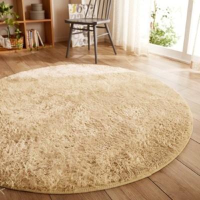 ラグカーペット 洗える ラグマット センターラグ 滑り止め ふわふわ シャギーラグ 床暖房 ラグ マット 円形 カーペット 北欧 おしゃれ かわいい リビング 寝室